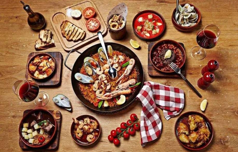 食物摆出的可爱造型