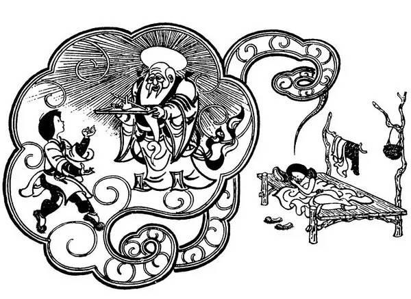 《神笔马良》插画
